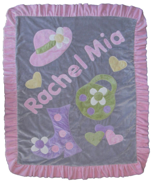 Dress Up Minky Blanket