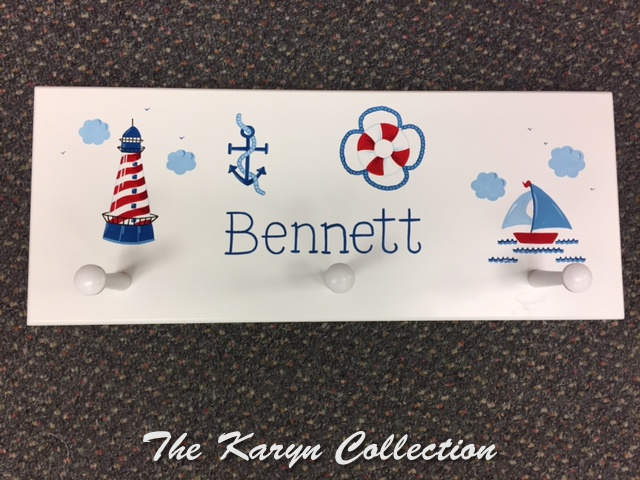 Bennett's Nautical Wall Coat Rack