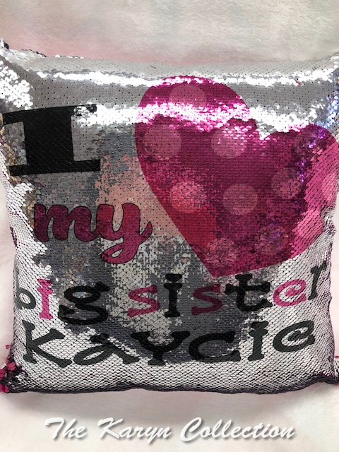 Big Sister Kaycie Pillow