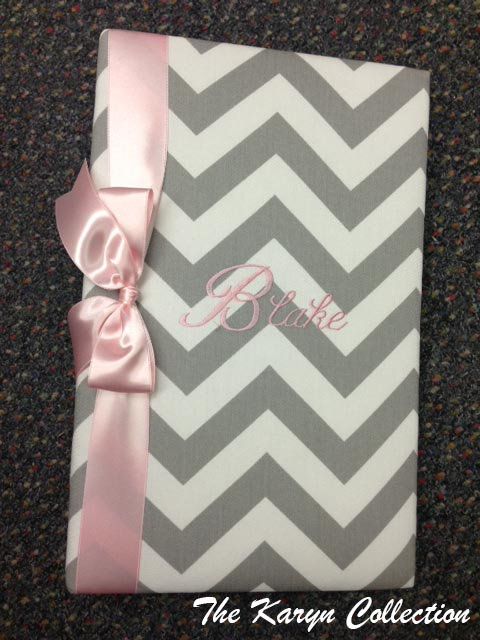 Gray Chevron Photo Album