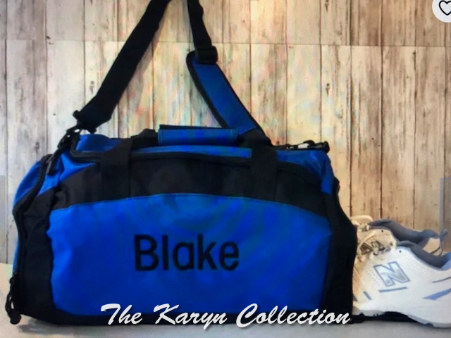 Blake's royal shoe pocket bag with name only