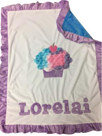 Basic cupcake blanket for Lorelai
