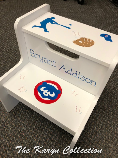 Bryant's  Cubs 2-Step Stool