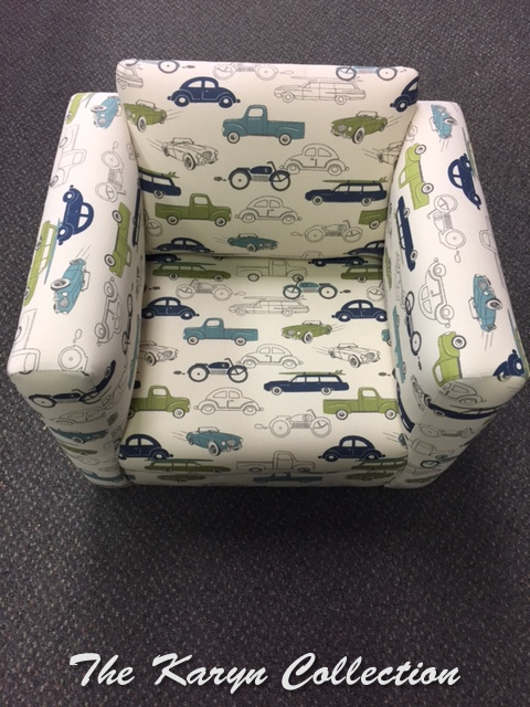 Cars and Trucks Chair