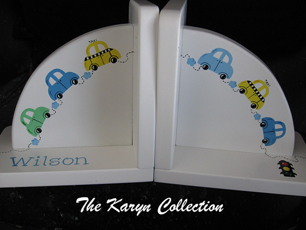 Cars Bookends