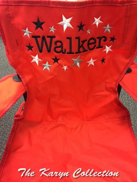 Walker's All- Star Stadium Chair