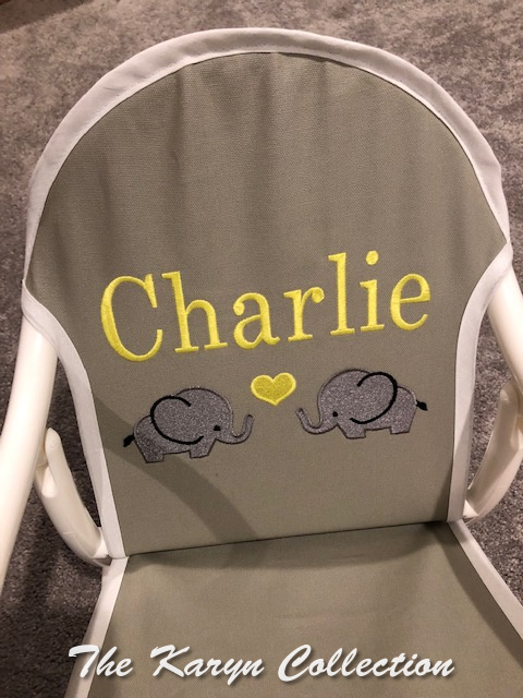 Charlie's elephant rocking chair