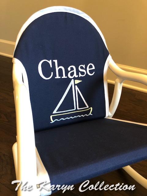 Chase's Nautical Rocker
