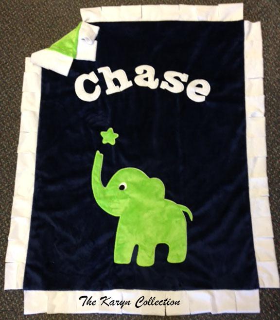 Mini or basic Elephant Minki Blanket