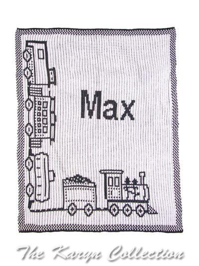 Choo Choo Train BB Stroller Blanket