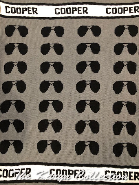 *EXCLUSIVELY OURS - Cooper's Sunglasses Cotton Blanket