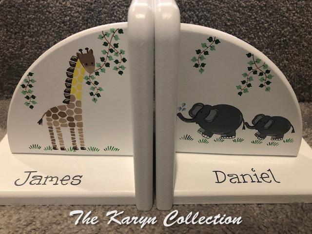 James Daniel jungle Bookends