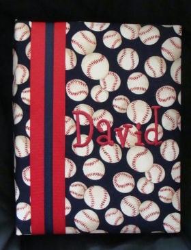 David Baseball Personalized Photo Album