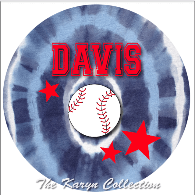 Davis' All Star Plate and bowl set