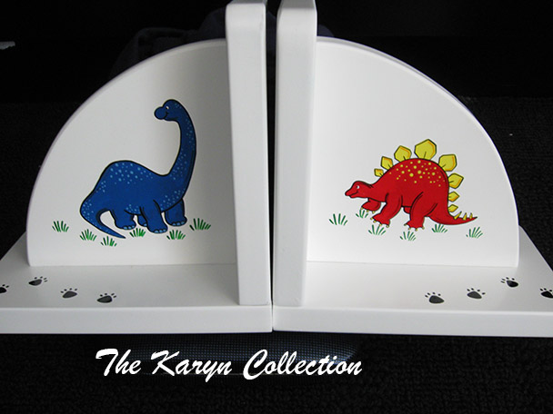 Dinosaurs Bookends