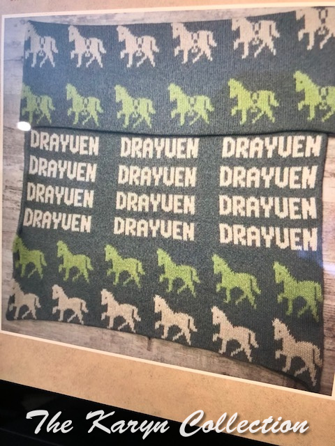 Exclusively Ours.. Drayven's all cotton horses blanket