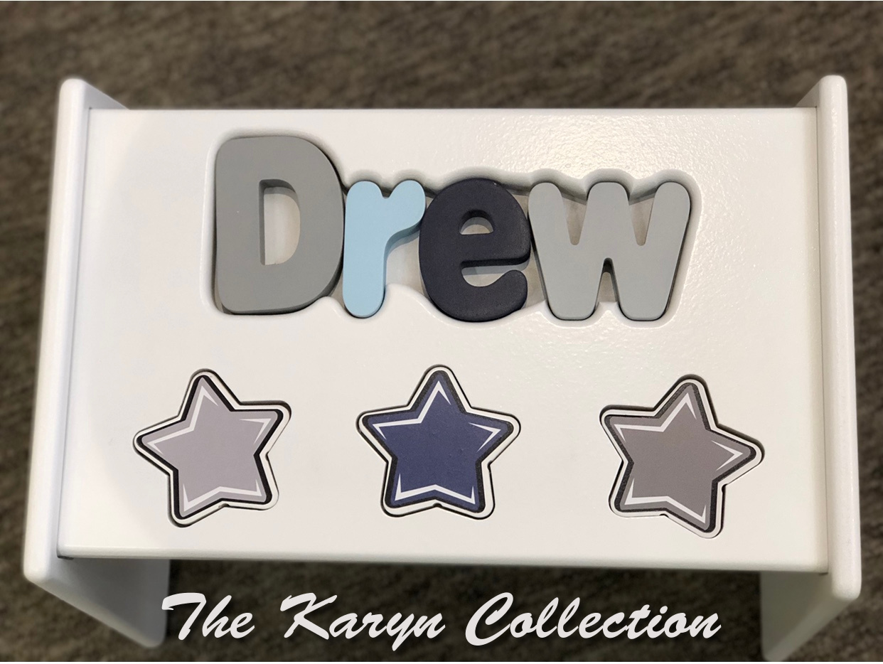 .. New!!  Drew's All Stars Puzzle Stool