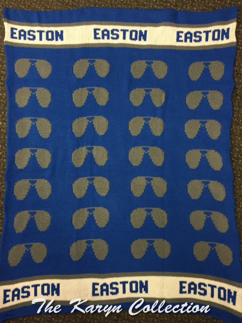 *EXCLUSIVELY OURS...Easton's Sunglasses COTTON Blanket