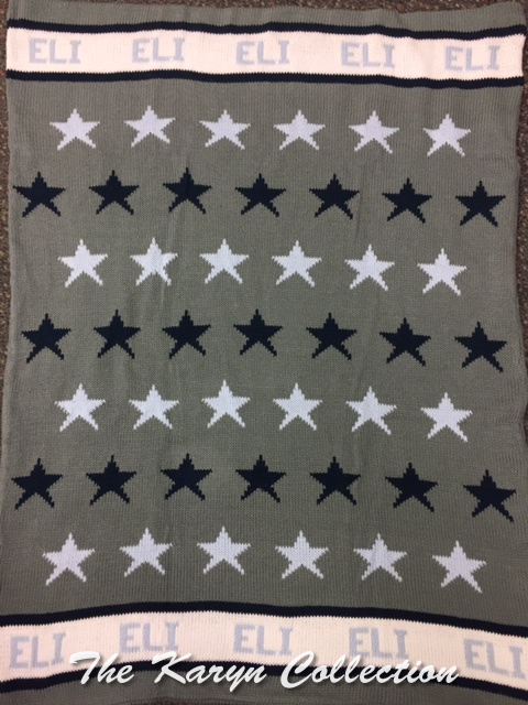 EXCLUSIVELY OURS...ELI'S ALL STAR COTTON BLANKET
