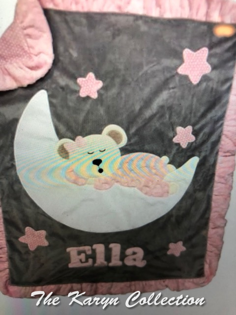 Ella's Goodnight Teddy Minki Blanket