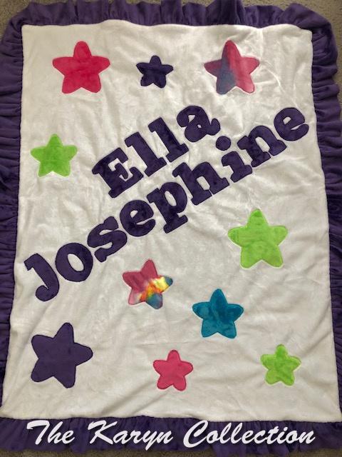 Ella Josephine's All Stars Blanket