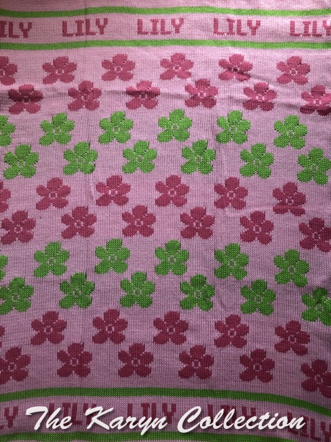 *EXCLUSIVELY OURS - Lily's all cotton flower blanket