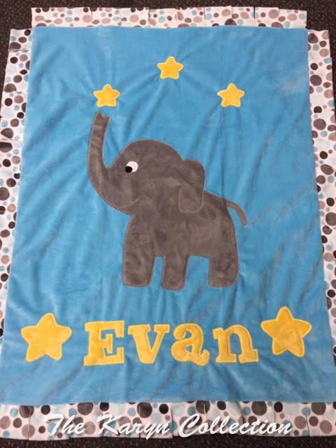 Evan's elephant stars & dots