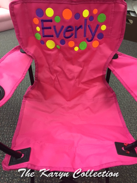 Everly's Stadium Chair