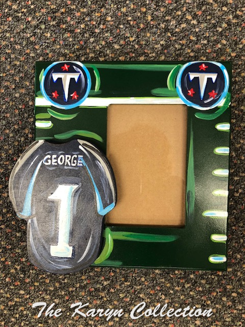 George's TENNESSEE Fan Picture Frame