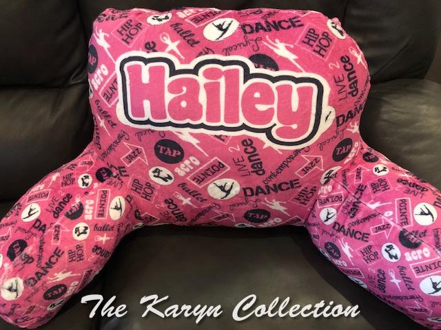 Hailey's Dance Study Pillow