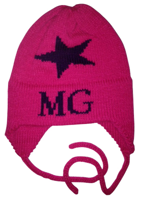 Single Star Hat with Earflaps