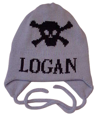 Logan's Skull and Crossbones Hat with Earflaps