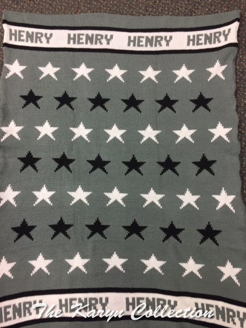 *EXCLUSIVELY OURS...HENRY'S ALL COTTON ALL STARS BLANKET