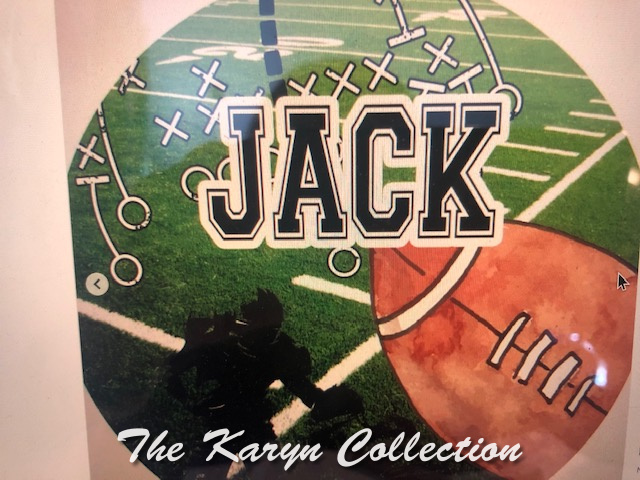 Jack's Sports Plate
