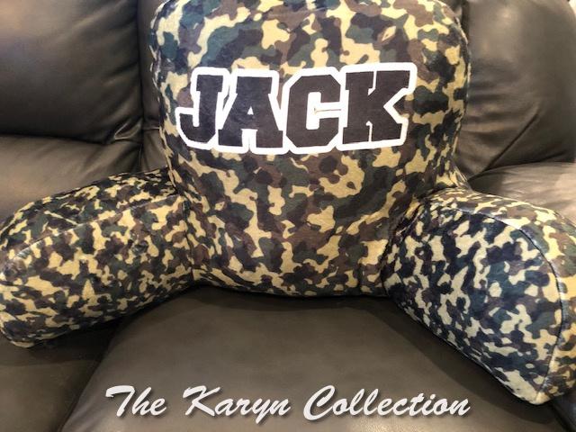 Jack's Camo Study Pillow