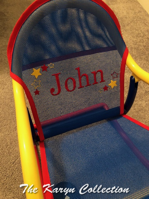 John's primary rocker with shadow stars