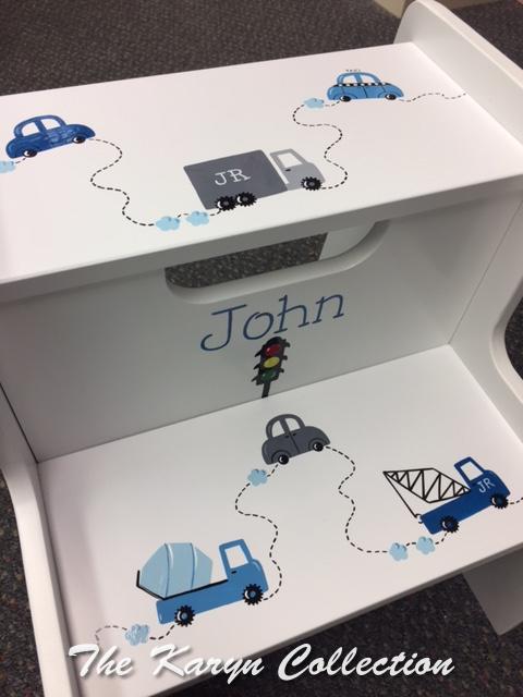 John's Transportation 2-Step Stool