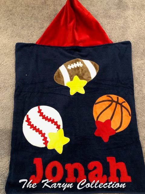 Jonah's Sports Hooded Towel           BEST SELLER ***