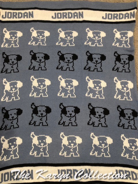 *EXCLUSIVELY OURS - Jordan's Puppies Cotton Blanket