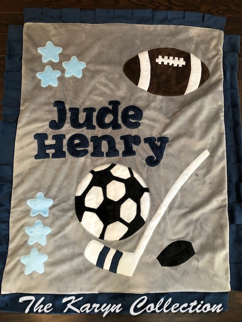 Jude Henry All Sports Blanket