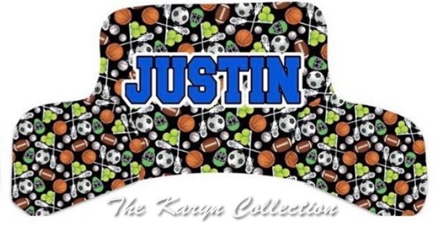 Justin's ALL-Sports Study Pillow