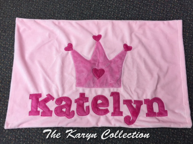 Katelyn's Crown Pillowcase