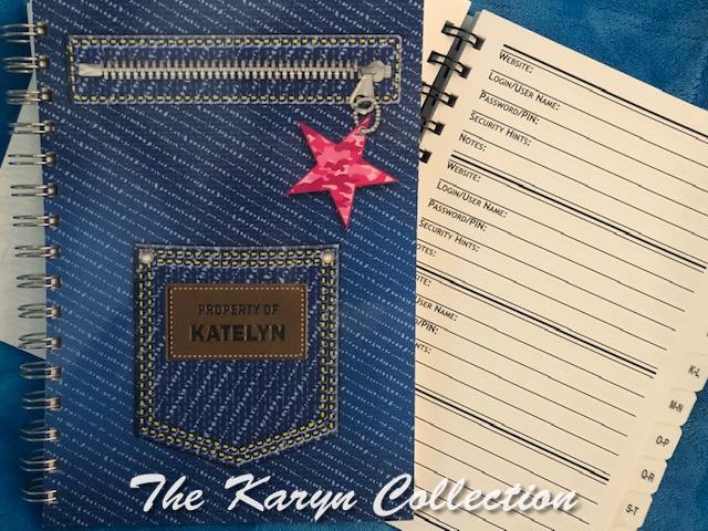 Katelyn's Denim Address Book