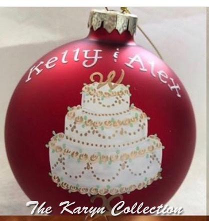 Kelly and Alex's Wedding Ornament