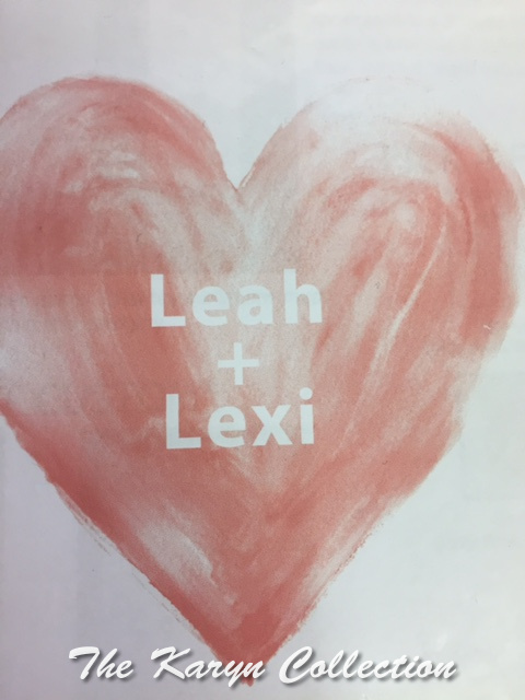 Leah & Lexi Magnet Board in 24 x 24