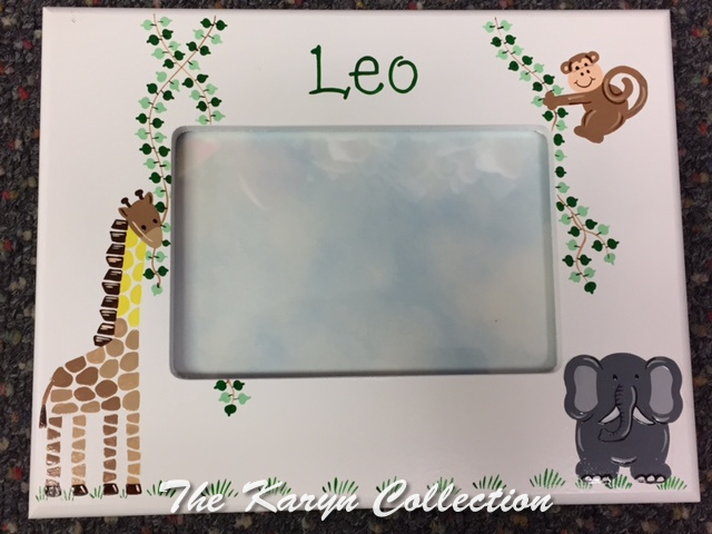 Leo's Jungle Animals Frame