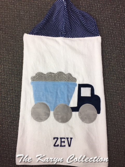 Lev's Truck Toddler Towel