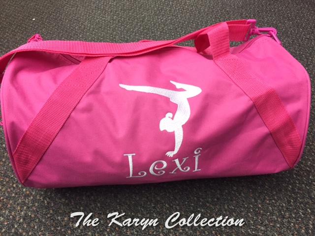 Lexi's Gymnastic Duffle Bag