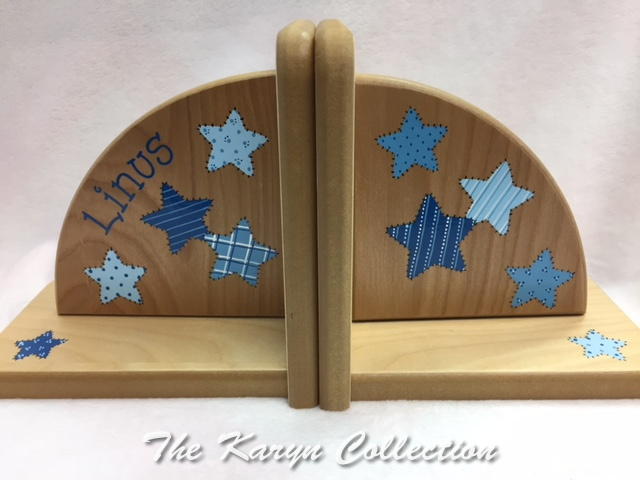 Linus' Patchwork STARS Bookends