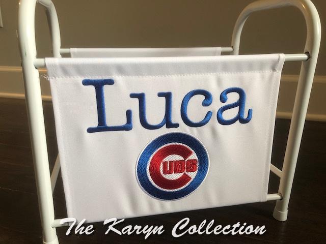 Luca's Cubs magazine-book rack